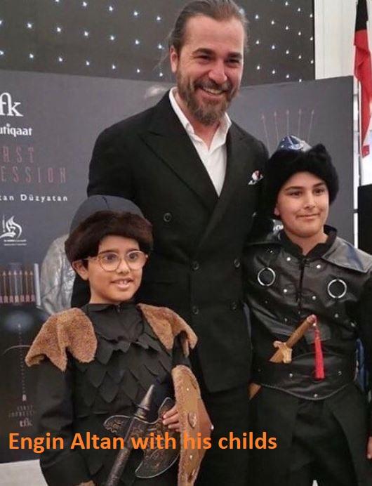 Engin Altan with children