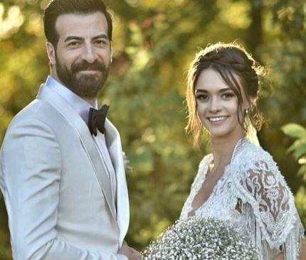 hande soral with her husband