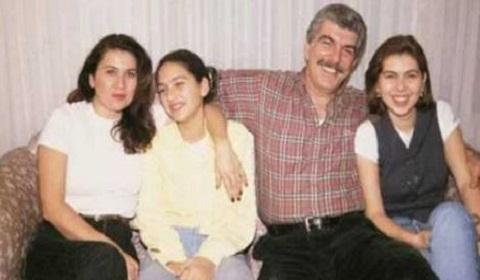 Hulya Darcen Korel with her husband