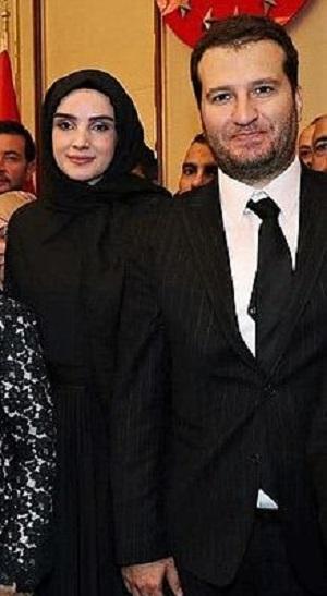 Mehmet Bozdag with his wife