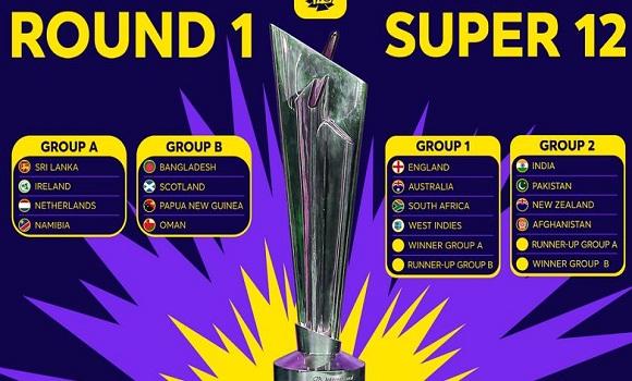 ICC T20 World Cup 2021 schedule