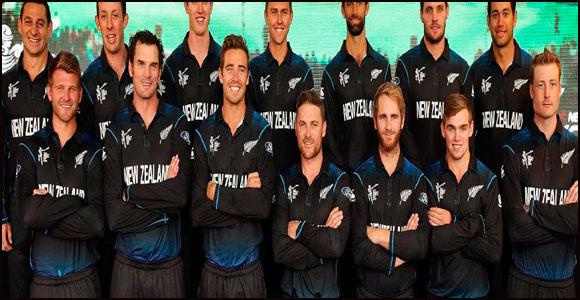 New Zealand Cricket team players