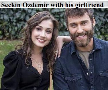 Seckin Ozdemir with his girlfriend