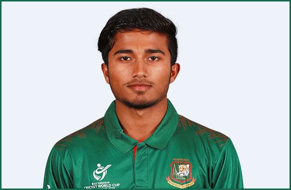 Afif Hossain cricketer