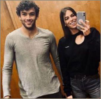 Ajla Tomljanovic with her boyfriend