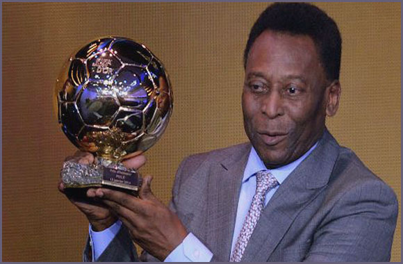 How Many Ballon d'Or does Pele have