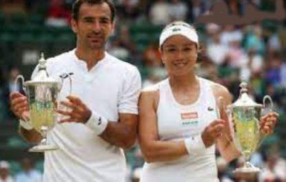 IVan Dodig with his girlfriend