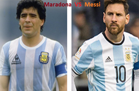 Who is better Messi or Maradona?