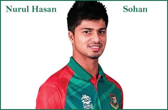 Nurul Hasan sohan cricketer