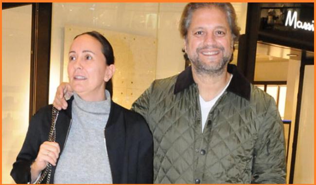 Ragip Savas with his wife photos