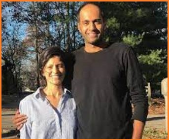 Rajeev Ram with his wife