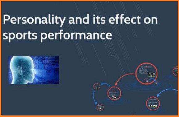 How does personality affect sports performance