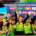 Womens Cricket World Cup winners list